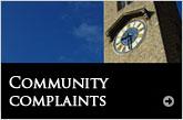 Community complaints