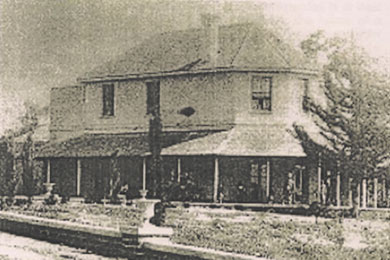 Photo of Shenton House from UWA Archives, 1936P