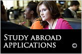 Study abroad applications