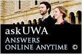 ask UWA - answers online anytime